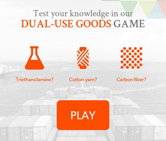 Dual-Use Goods Game 2016 Mobile