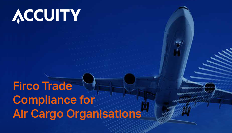 Firco Trade Compliance for Air Cargo Organisations