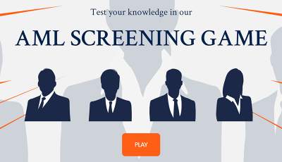 AML Screening Game