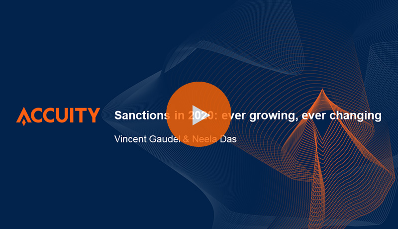 Sanctions in 2020: ever growing, ever changing